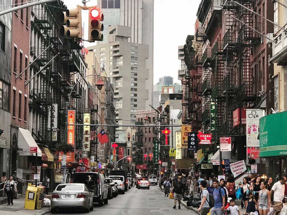 China Town, New York
